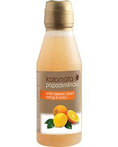 Kalamata Papadimitriou, White Balsamic Cream Orange & Lemon, 250ml