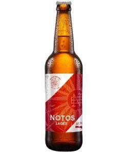 Μικροζυθοποιείο Notos -Gold Lager  0,33LT