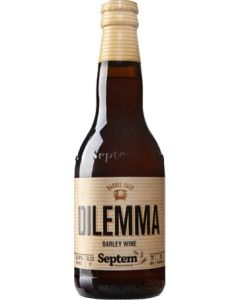 Septem Microbrewery  - Dilemma Barley Wine 330ml