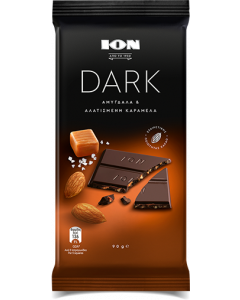 ION Dark - Almonds and Salted Caramel 90gr