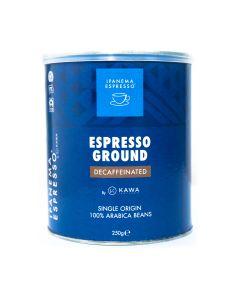 Καφές Ipanema DECAF Espresso 250gr Αλεσμένος