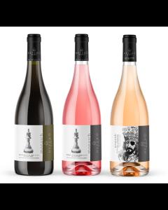 Hetero Wines -  Pack of 3x 750ml