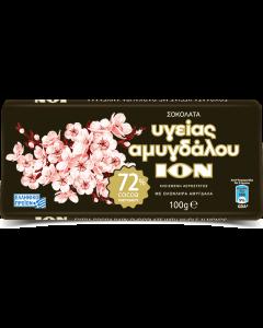 ΙΟΝ Αμυγδάλου - Υγείας Extra 72% με ολόκληρο αμύγδαλο 100gr