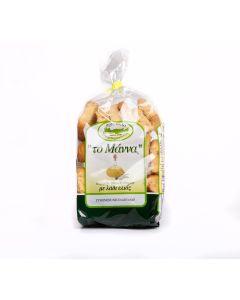 The Manna Tsatsaronaki Kythirian Olive-oil Rusk  (500 gr)
